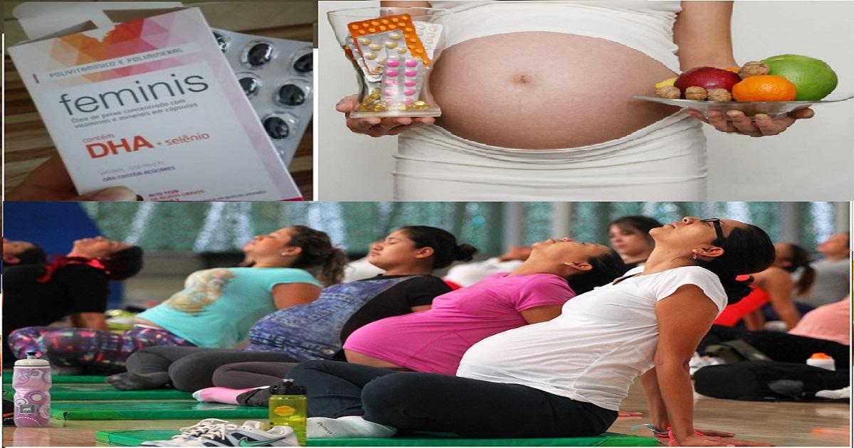 vitaminas para gestantes materna